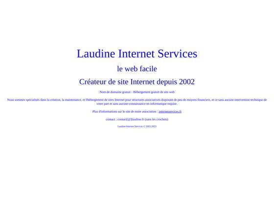Laudine internet services