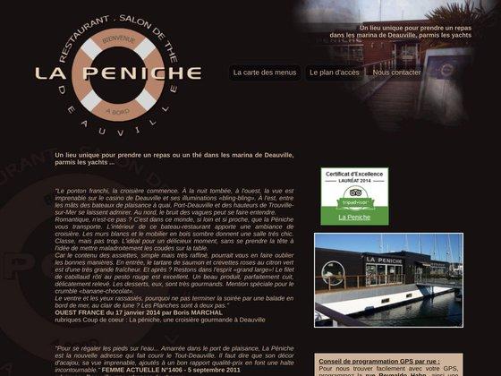 Restaurant Deauville : la péniche