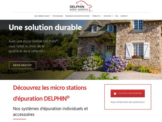 Delphin Water Systems - fabricant de micro stations