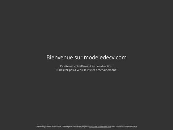 Modèles de CV
