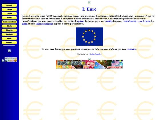 L'euro: description des pièces et billets