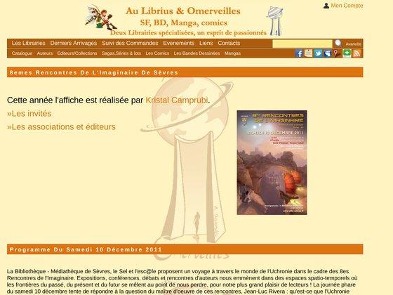 8emes Rencontres de L'imaginaire de Sèvres