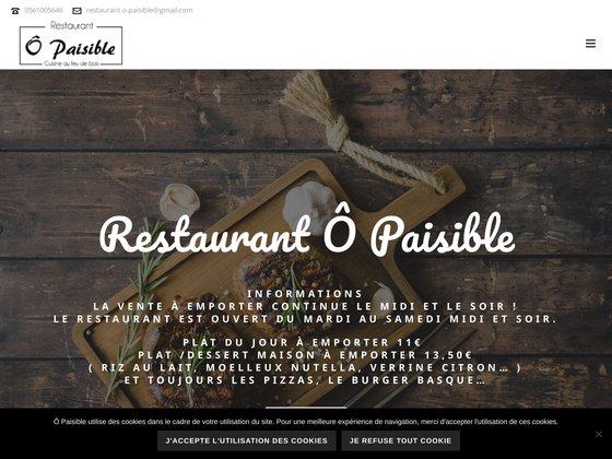 Ô paisible : restaurant de produits frais à labège dans la Haute-Garonne