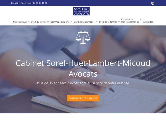 Cabinet Sorel-Huet Avocats à Villeurbanne
