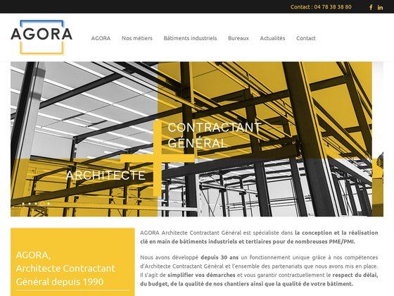 Agora architecte bâtisseur