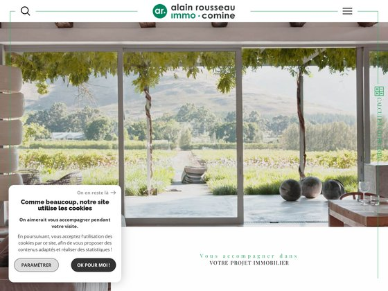 Alain Rousseau : agence immobilière à Angers