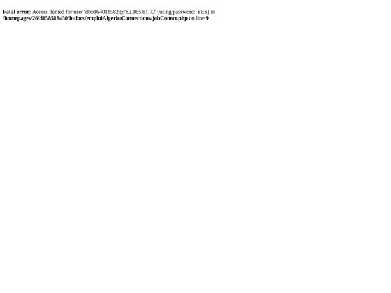 Algérie Emploi