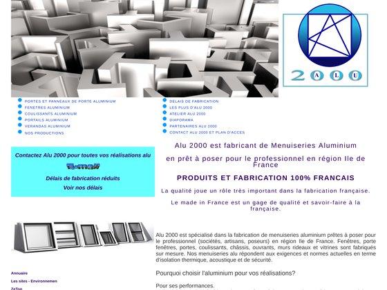 Menuiserie aluminium alu 2000 seine et marne
