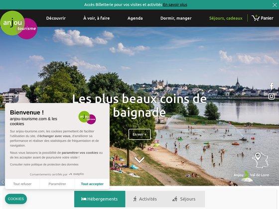 Réservez des vacances en Val de Loire avec Anjou-resa.com