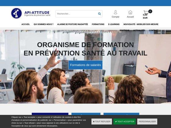 API-Attitude, gilet jaune avec alarme de posture inadaptée