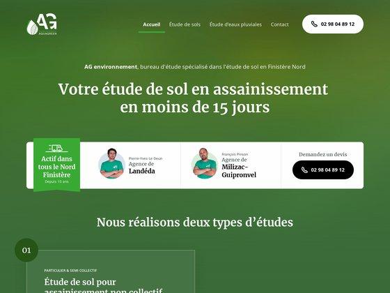 Aquagreen, bureau d'études environnementales