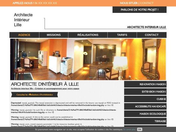 Création d'espace lille -  Archithème