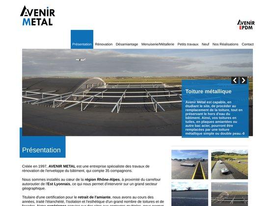 Avenir Metal - Rénover un bâtiment industriel, rénovation de couverture et toiture en Rhône-Alpe