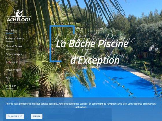 Acheloos Piscine, couverture et bache piscine