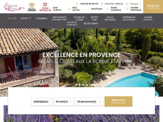 La Bonne Etape : Relais Châteaux 4 étoiles en Haute Provence