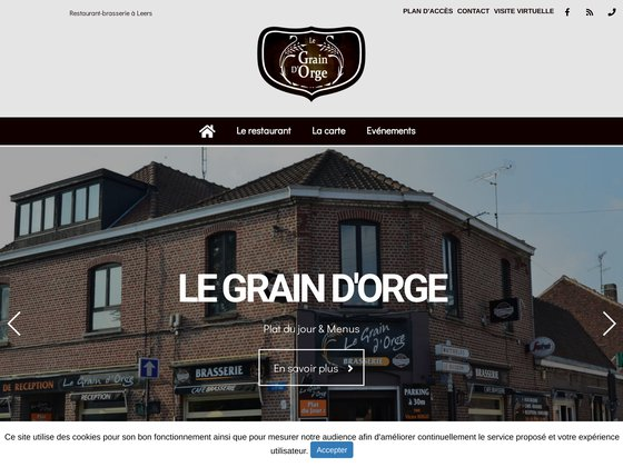 Restaurant Brasserie près de Leers - Nord
