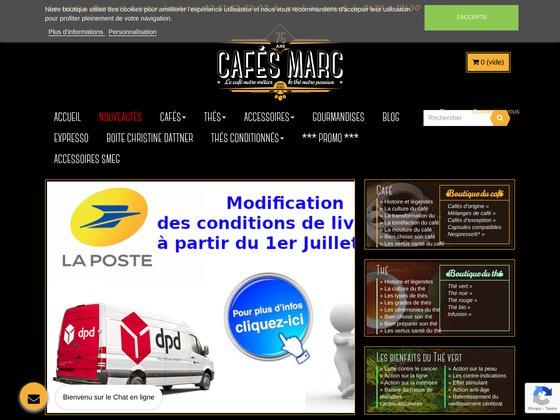 Cafés arabica et robusta