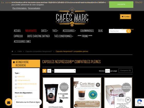 Des capsules à petit prix pour machines Nespresso