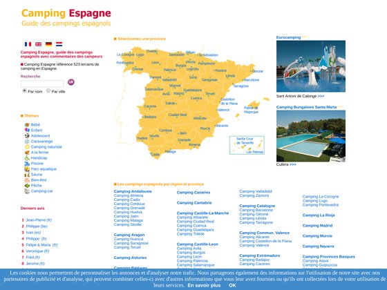 Camping espagne