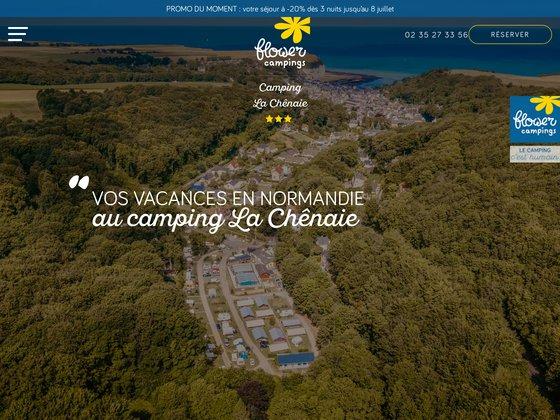 Camping La Chênaie à Yport