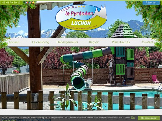 Camping Le Pyreneen a Luchon