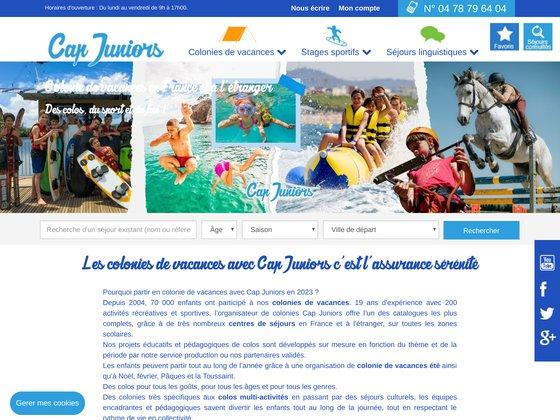 Cap Juniors l'agence de voyages on line des 4 - 25 ans