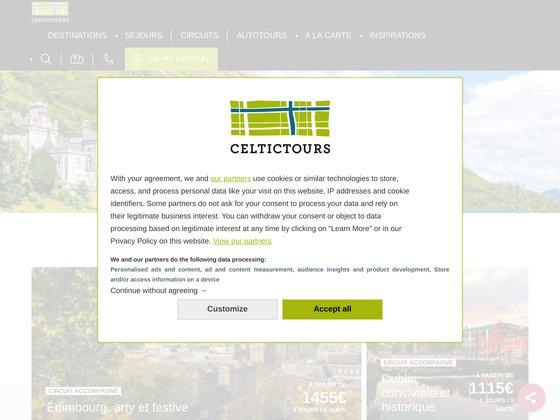 Celtictours - Spécialiste du voyage dans les pays Celtes