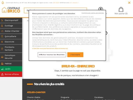 Centrale-bricolage.com : spécialiste du bricolage, maison et jardin
