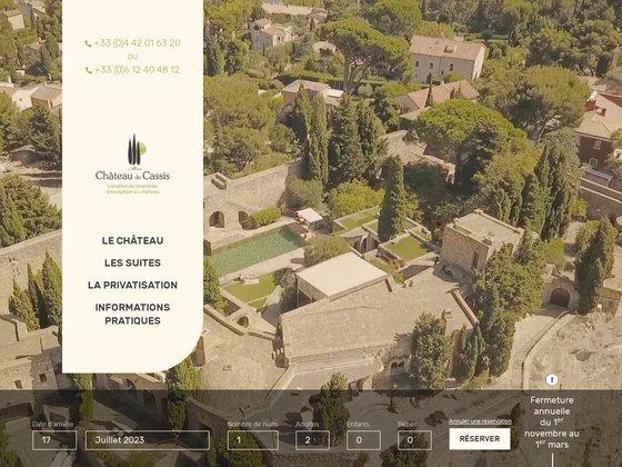 Château de cassis - demeure d'hôtes et chambres