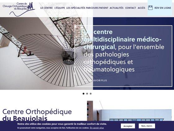 Centre de Chirurgie Orthopédique du Beaujolais à Lyon