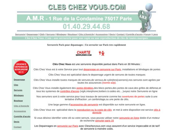cleschezvous.com