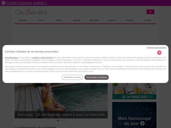 Clic bien-être : webmagazine médecine douce