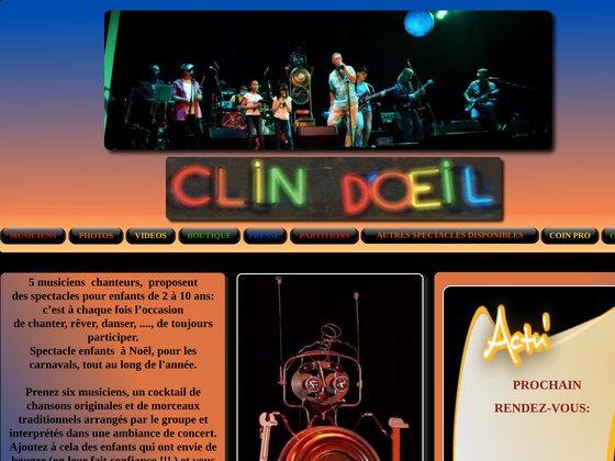 Clin d'oeil : spectacles de musique pour enfants