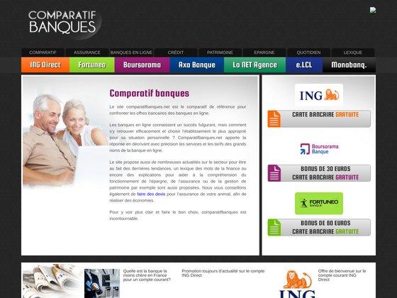 Comparatif banques