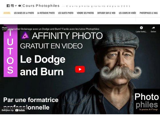 Cours photo et photo numérique gratuits - Photophiles