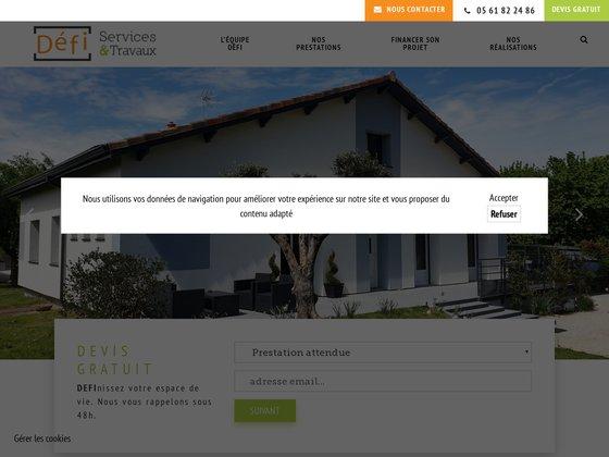 Courtier en travaux : Défi Services & Travaux à Gratentour (31)
