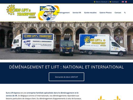 Euro Lift Express: Le monte-meubles à votre service