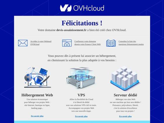 Devis.assainisement.fr, des installateurs agréés en assainissement
