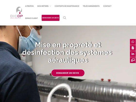 Dicop hygiène réseaux aérauliques Colombes (92)
