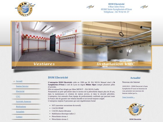 DSM Electricité : entreprise d'électricité générale