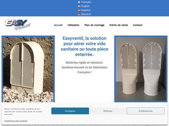Equipement ventilation vide sanitaire : Easyventil