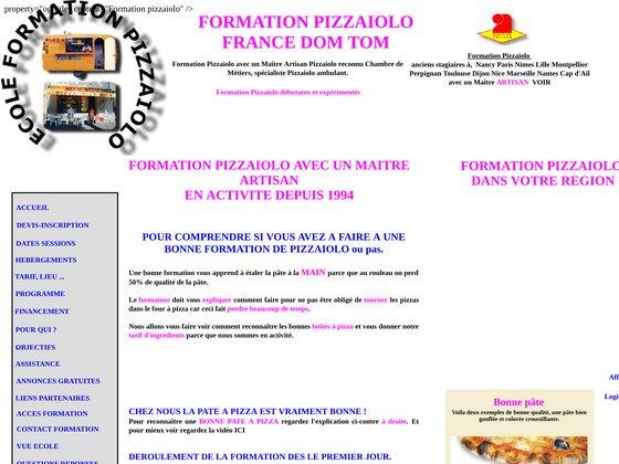 Ecole formation pizzaiolo millau instruite par un maître artisan.