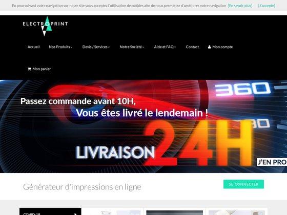 Carte de visite - imprimeur - electroprint.fr
