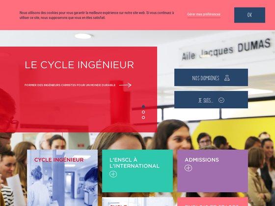 Ecole Nationale Supérieure de Chimie de Lille