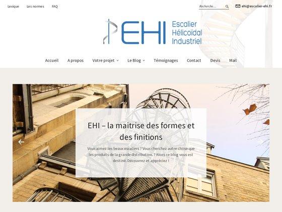Escalier Hélicoidal Industriel EHI
