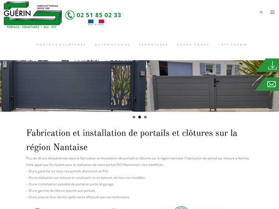 Fabricant portail pvc et aluminium