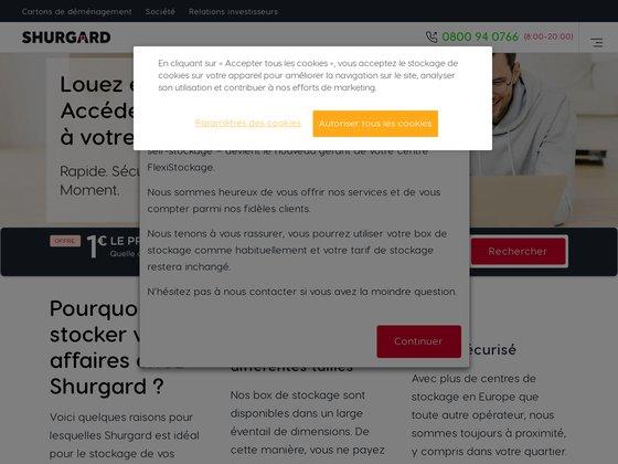 le service flexistockage.fr