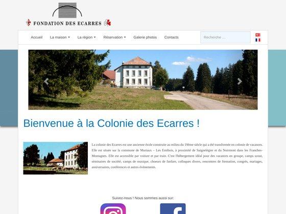 Fondation des ecarres (jura bernois, suisse)