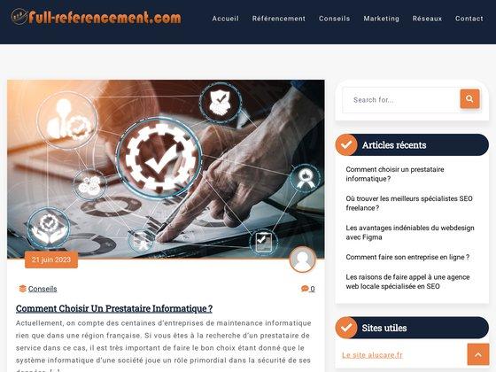 LFC référencement et promotion de site web