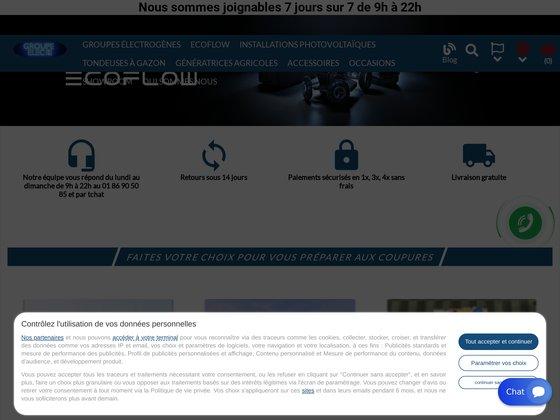 Groupe elec : spécialistes des groupes électrogènes à Argelès-sur-Mer